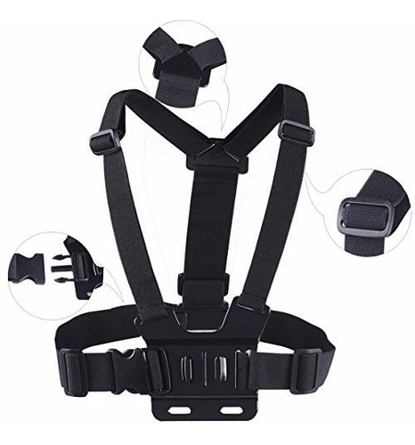gopro 5 suporte peito cinta peitoral action sports acessorio