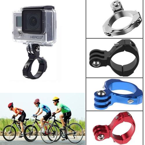 gopro accesorio soporte montura para bicicleta de aluminio