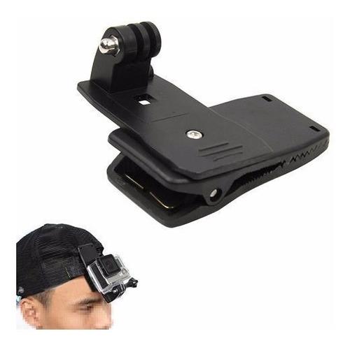gopro acessório quick clip buckle 360 presilha garra mochila