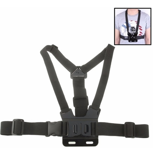 gopro bastão flutuador + suporte de cabeça + suporte peito