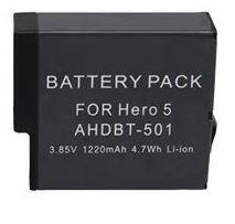 gopro bateria extra para hero 5 / 6 / 7 black go pro