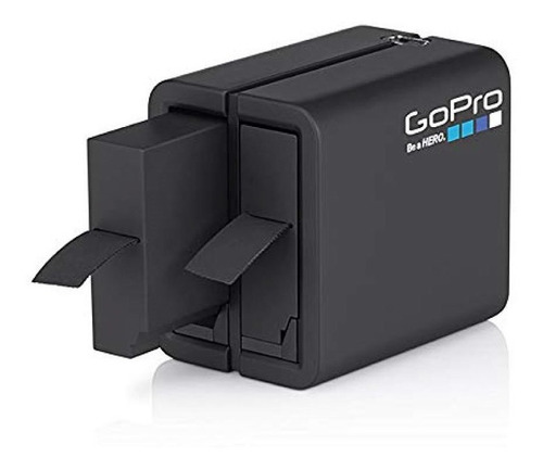 gopro cargador bateria dual pila hero4 black silver
