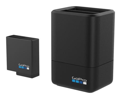 gopro cargador de batería doble + batería (hero5 negro