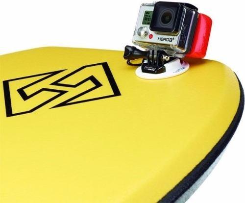 gopro go pro suporte de bodyboard body board mount abbrd-001