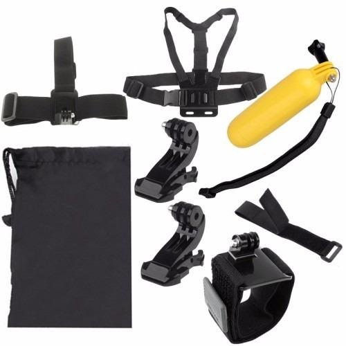 gopro gopro kit suportes para câmera hero 2/3/3+/4 9 em 1