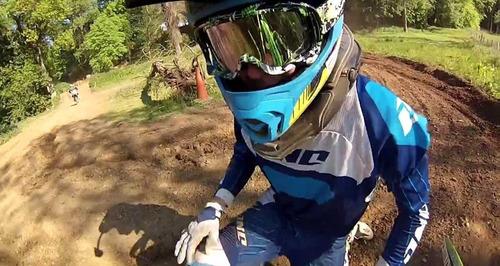 gopro hero 2, 3+,3  4 braço estendido capacete arm gira 360
