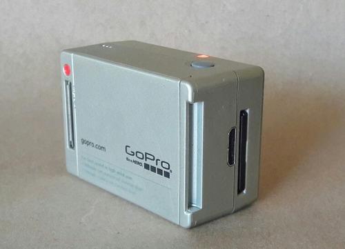 gopro hero 2 marco cable adapt memoria montura adhesiva
