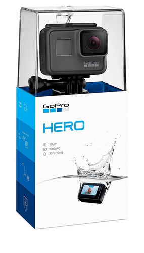 gopro hero 2018 10mp 1080p pantalla sumergible
