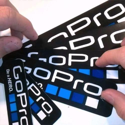 gopro hero 3 4 5 6 pegatinas de adhesivo  9pcs montaje