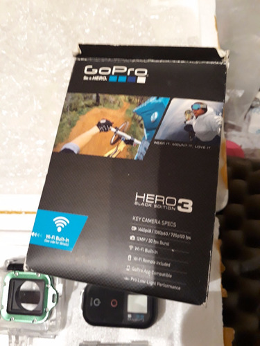 gopro hero 3 black edition completaa!!
