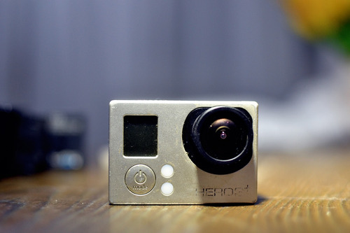 gopro hero 3+ black hd  4k protune 12mp action cam