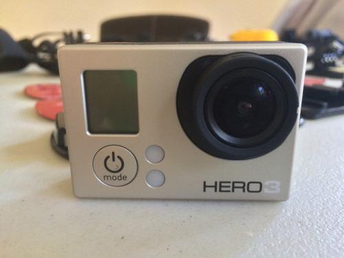 gopro hero 3 con más de 40 accesorios!!