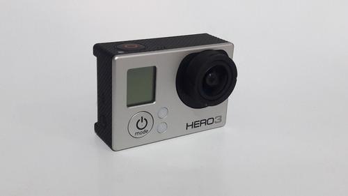 gopro hero 3 silver marco cargador auto cable msi envío grat