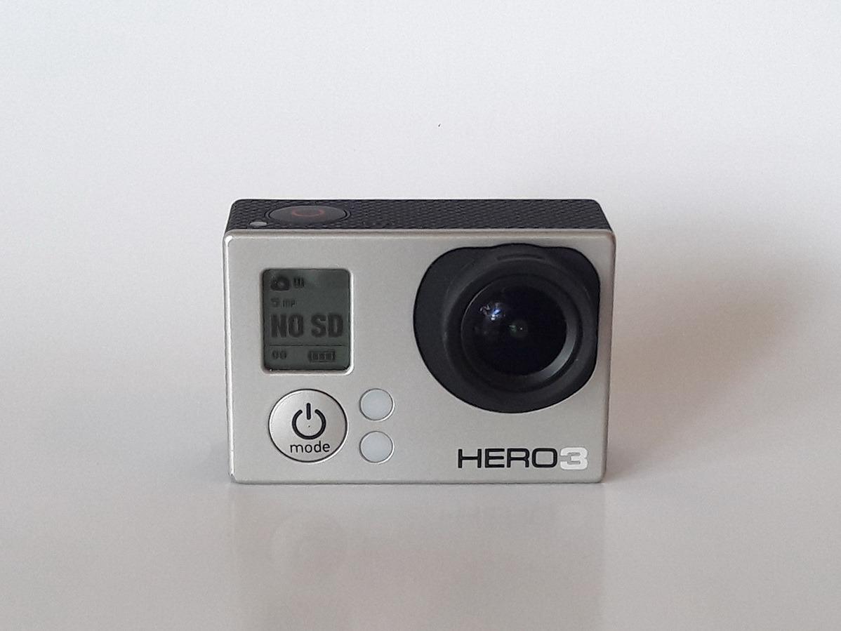Gopro Hero 3 White Marco Tapa Lente Cargador Auto Cable - $ 1,895.00 ...