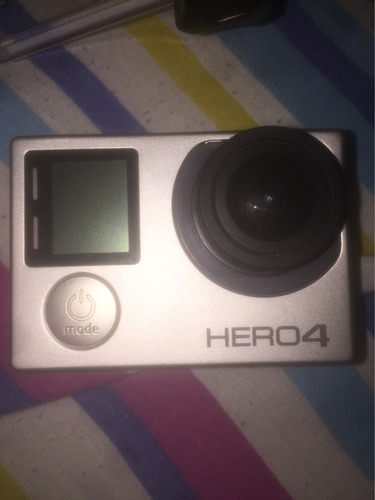 gopro hero 4 black 4k + 32gb sd + accesorios