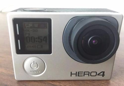 gopro hero 4 black con pantalla muy poco uso ver la foto