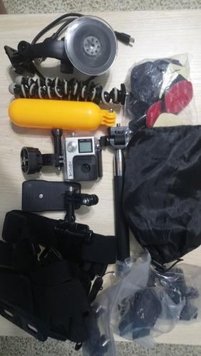 gopro hero 4 black edition con full accesorios