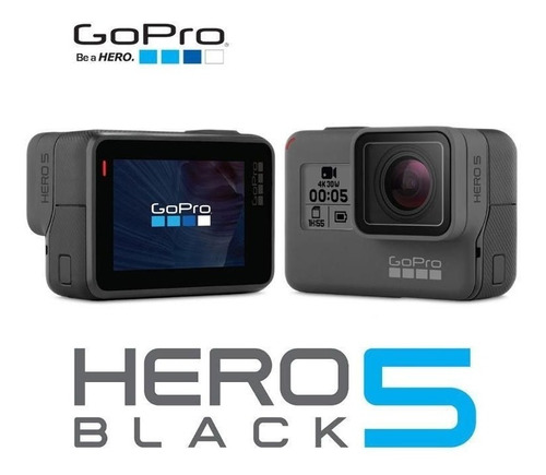 gopro hero 5 black camera go pro 5 4k - ***nova na caixa***