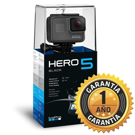 gopro hero 5 black edition + micro sd 16 gb c10 - prophone