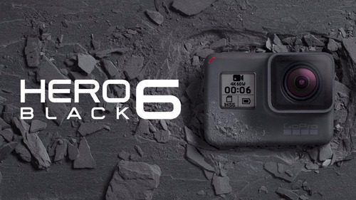 gopro hero 6 black 100% original, lacrada na caixa! #