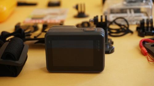gopro hero 6 black + cartão 16gb+ wi+fi + acessorios + frete grátis