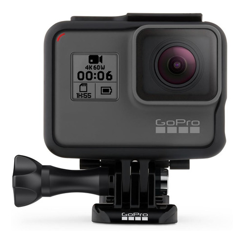 gopro hero 6 black (chdhx-601)! 12 mp / 4k!
