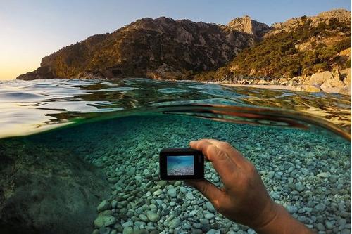 gopro hero 7 black câmera digital 4k+ extreme 64gb+ bateria
