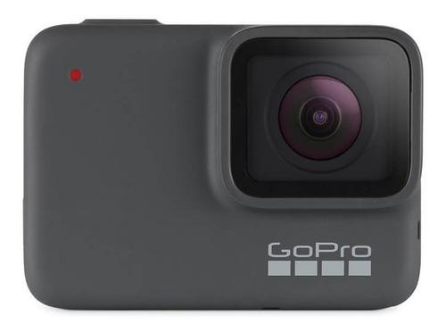 gopro hero 7 silver + carg. solar / 12 ctas / iprotech