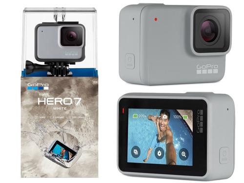 gopro hero 7 white camara digital táctil 1080p hd video 10mp