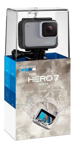 gopro hero 7 white chdhb-601  gratis agarradera flotante