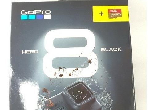 gopro hero 8 pronta entrega 1 ano de garantia, + 32g extreme