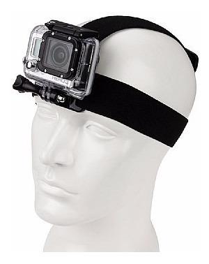 gopro hero acessórios suporte de peito + suporte de cabeça