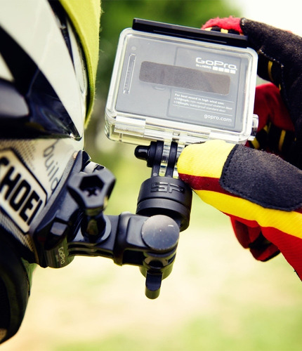 gopro hero - brazo de montaje giratorio 360° - accesorio