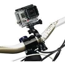 gopro hero suporte mount ride bike guidões tubos hd 4,3+3, 2