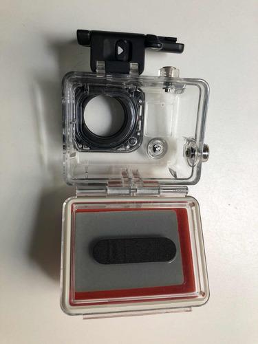 gopro hero3 + black - caixa estanque com boia e controle