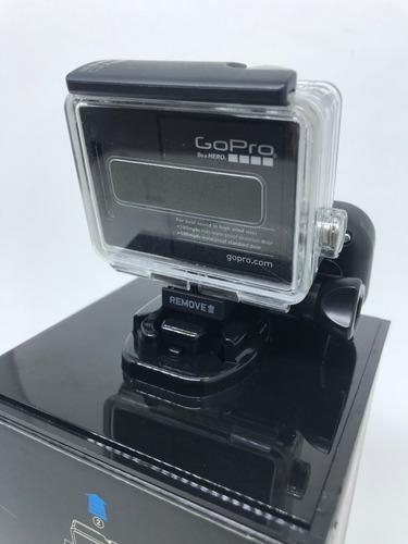 gopro hero3+ black + controle remoto + completa!