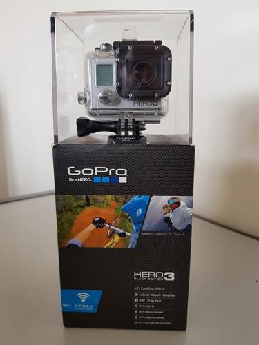 gopro hero3 black edition com diversos acessórios