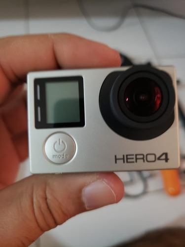 gopro hero4 silver com lcd e dome - 32 gb