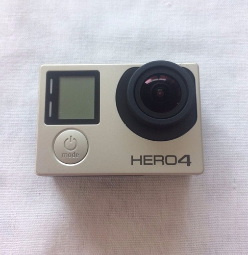 gopro hero4 silver lcd touch filmadora full hd + acessórios