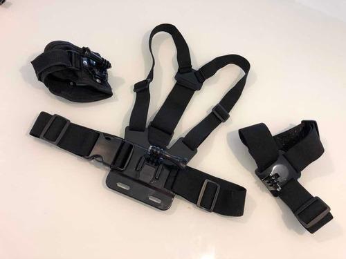 gopro hero6 black c/ vários acessórios originais