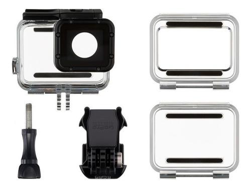gopro hero7 black+ultra 64gb+caixa estanque+bastão flutuante