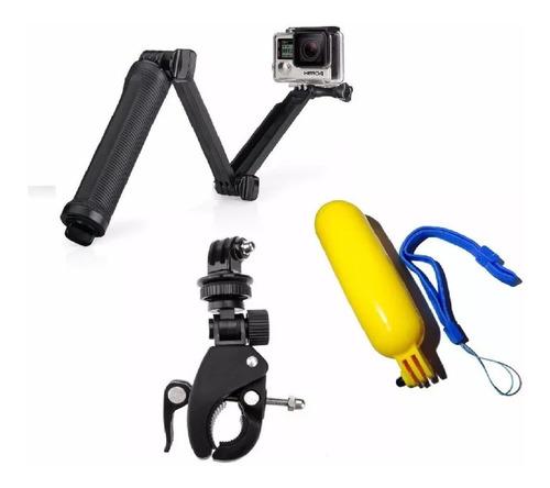 gopro kit para câmeras hero 6/5/2/3/3+/4 go pro hero 5 black
