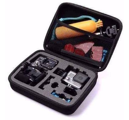 gopro kit top equipamentos hero 3+ 4 5 6 7 black session 4 5