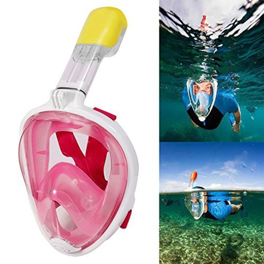2b676af07 gopro mascara snorkel easybreath buceo sj4000 (s m rosa). Cargando zoom.
