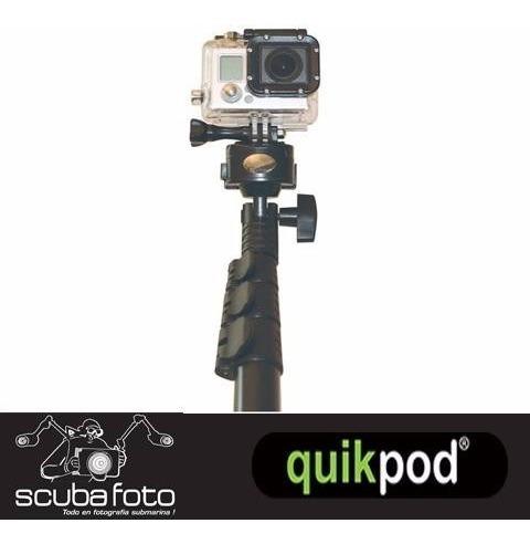 gopro monopod quickpod profesional sumergible - 770241201275