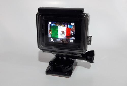 gopro plus lcd pantalla touch con montura cargador