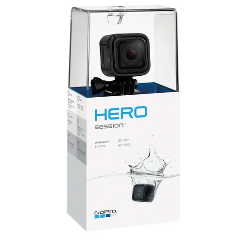 gopro session 8mp 1080p timelapse wifi bluetooth contra agua