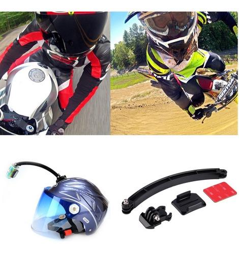 gopro suporte braço extensor go pro haste capacete/ciclismos