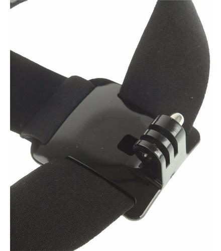 gopro suporte de cabeça ajustável para câmera gopro hero4 4k