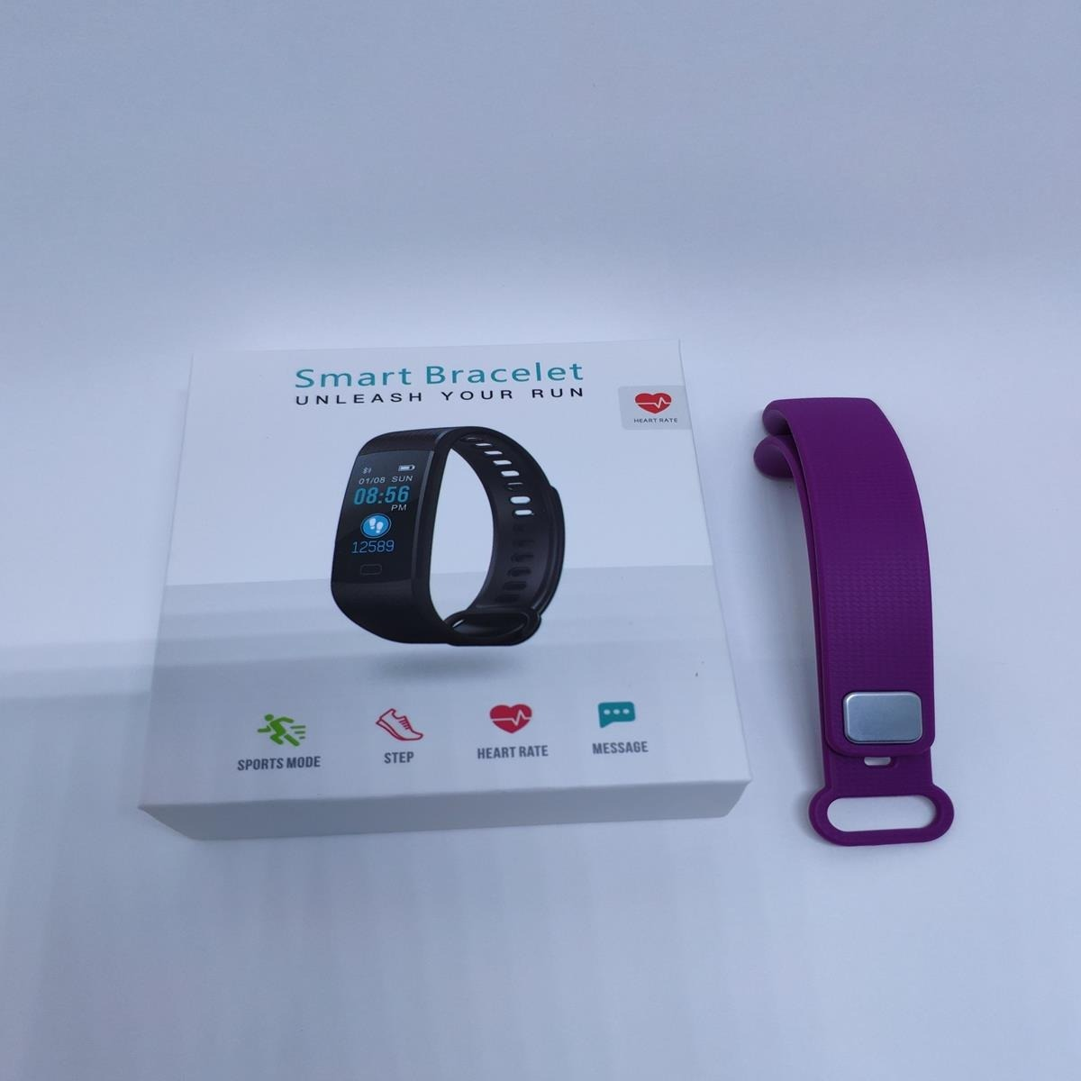 Goral Y5 Relógio Inteligente Smartband + Pulseira Extra